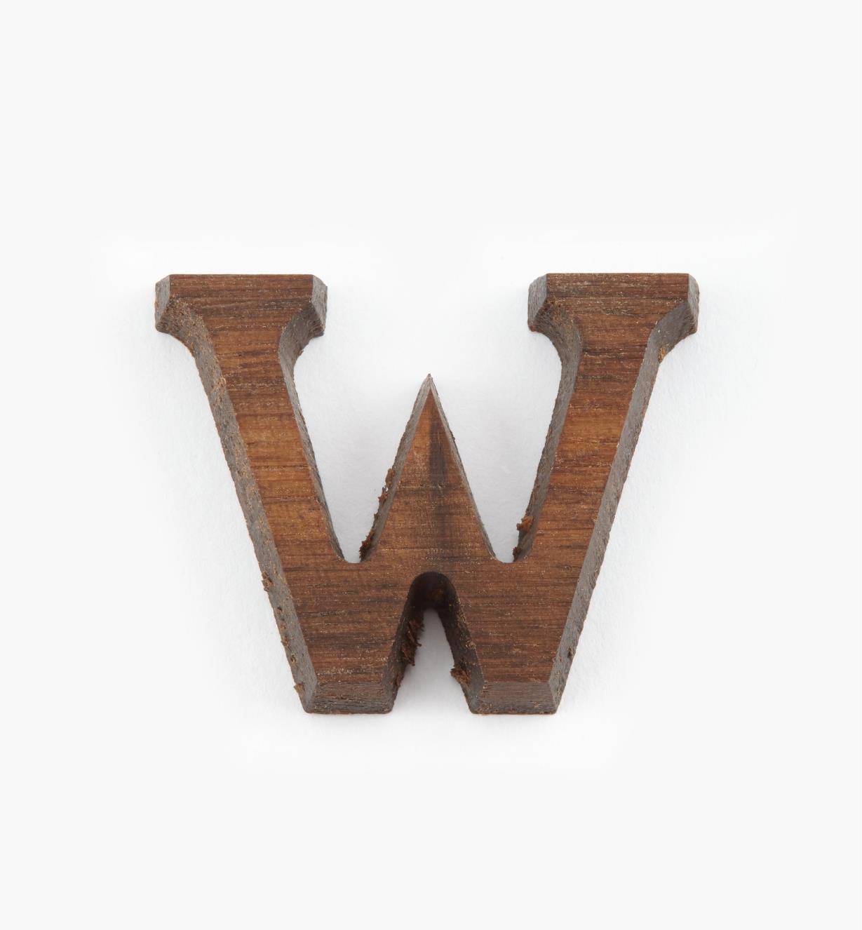 """41K07W - 1"""" Letter-W"""