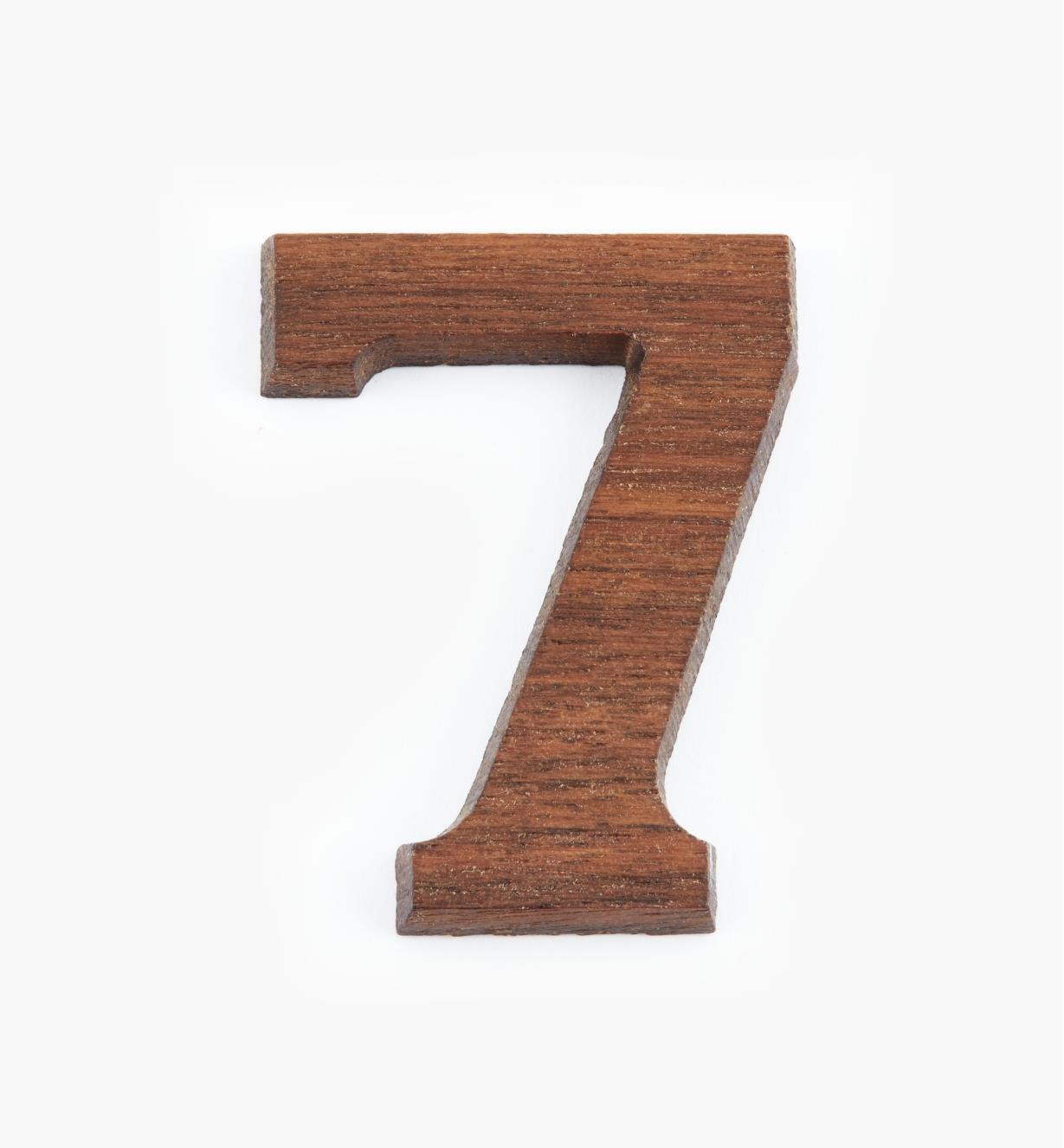 """41K087 - 1 5/8"""" Number-7"""