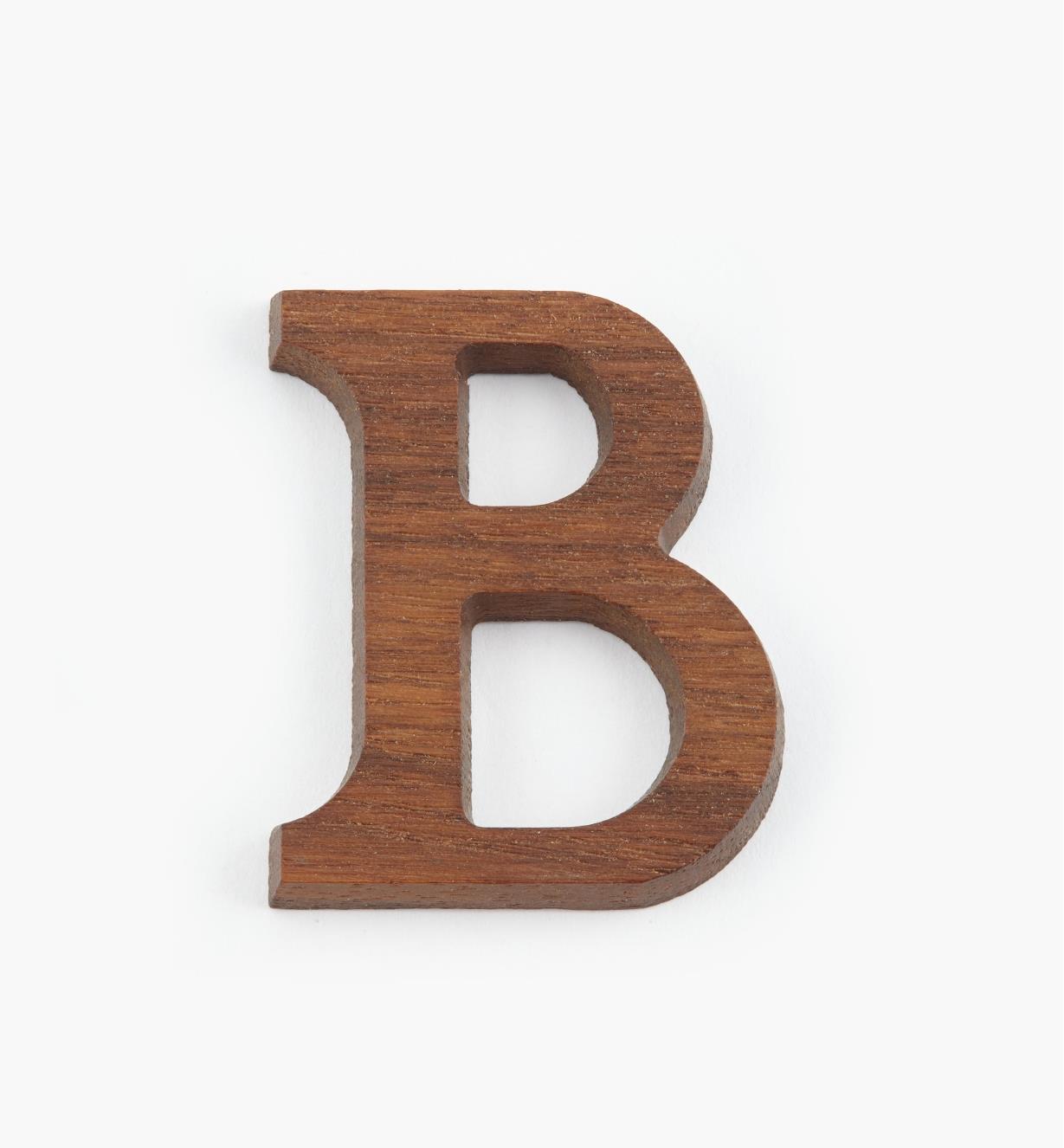 """41K08B - 1 5/8"""" Letter-B"""
