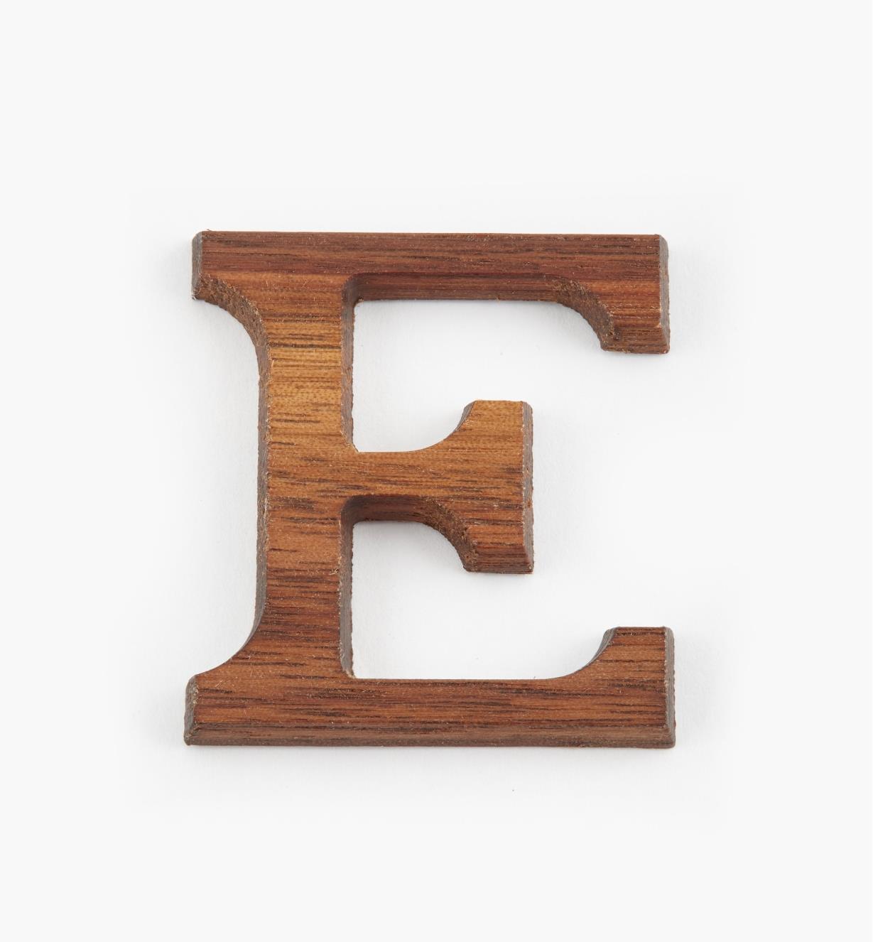 """41K08E - 1 5/8"""" Letter-E"""