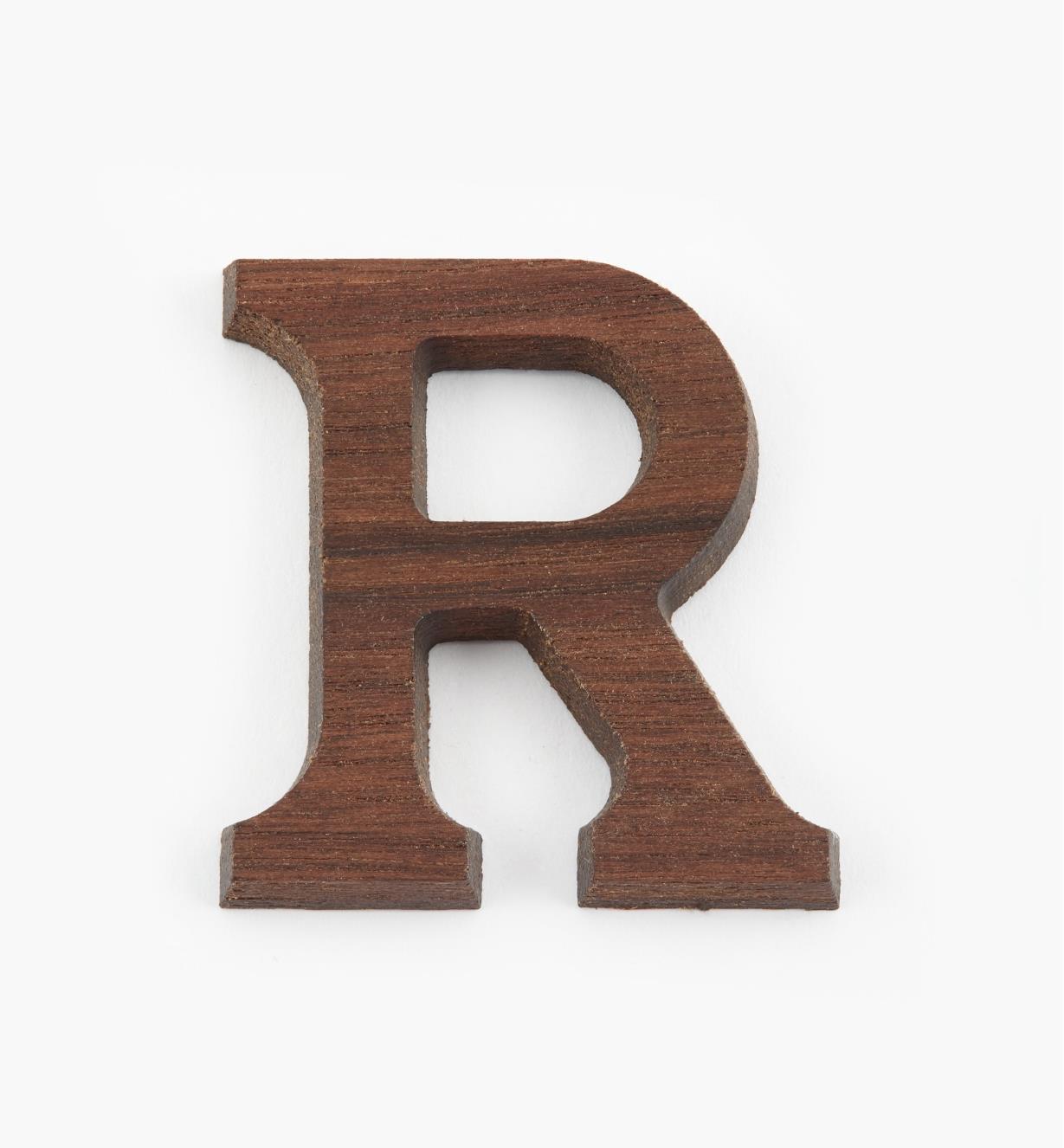 """41K08R - 1 5/8"""" Letter-R"""