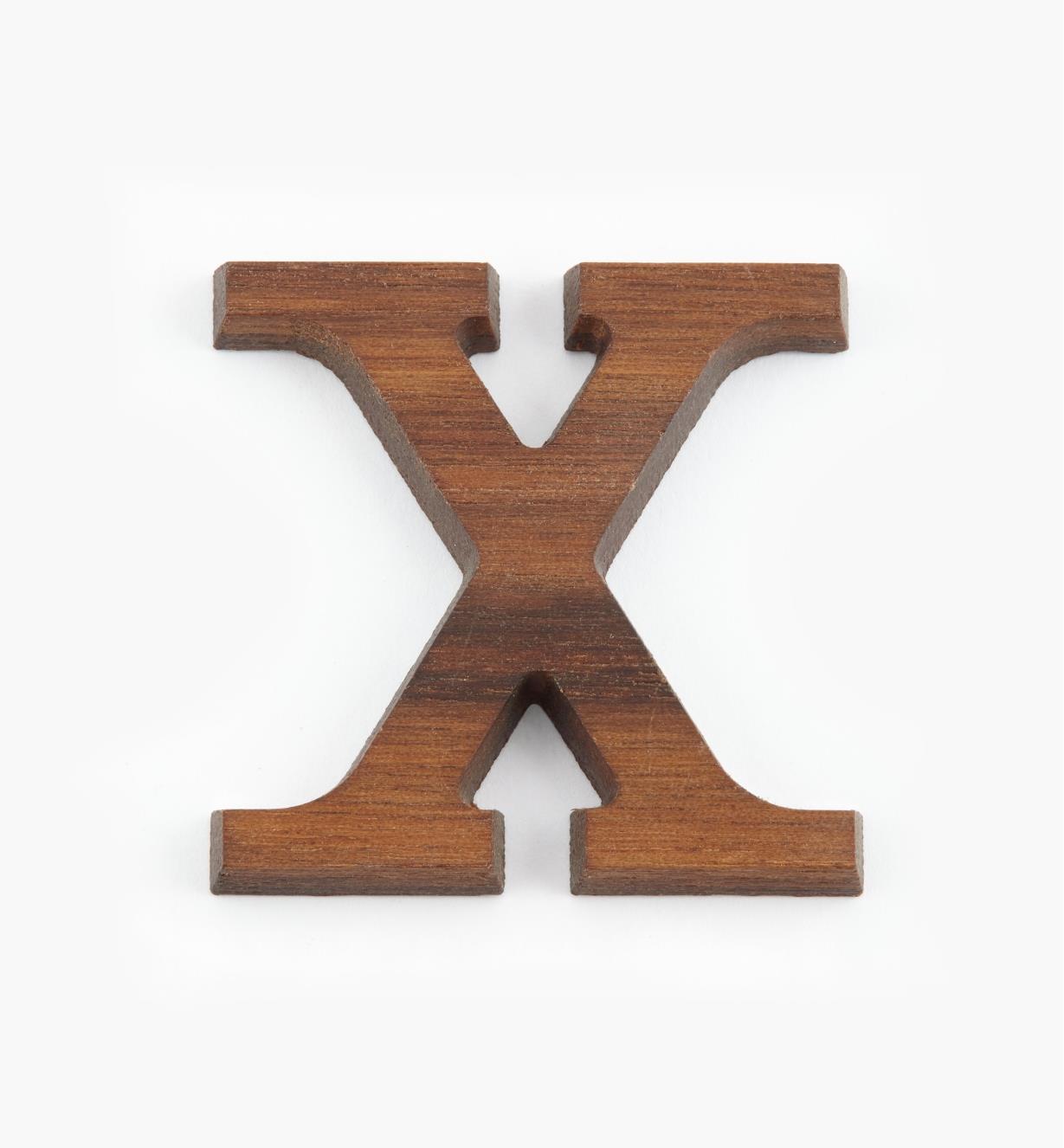 "41K08X - 1 5/8"" Letter-X"