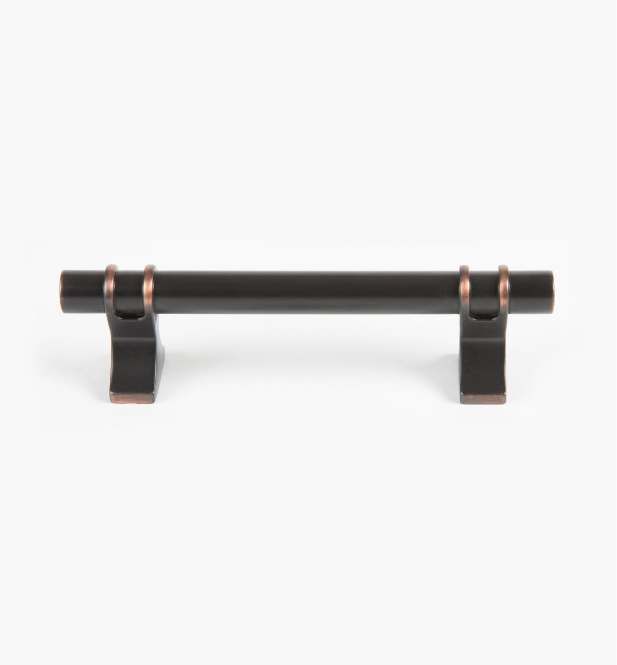 02A1437 - Poignée Davenport, 96mm (135mm), bronze huilé, l'unité