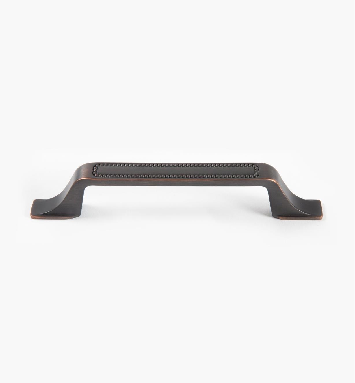 02A1633 - Poignée Carolyne, 128mm x 33mm (173mm), bronze huilé, l'unité