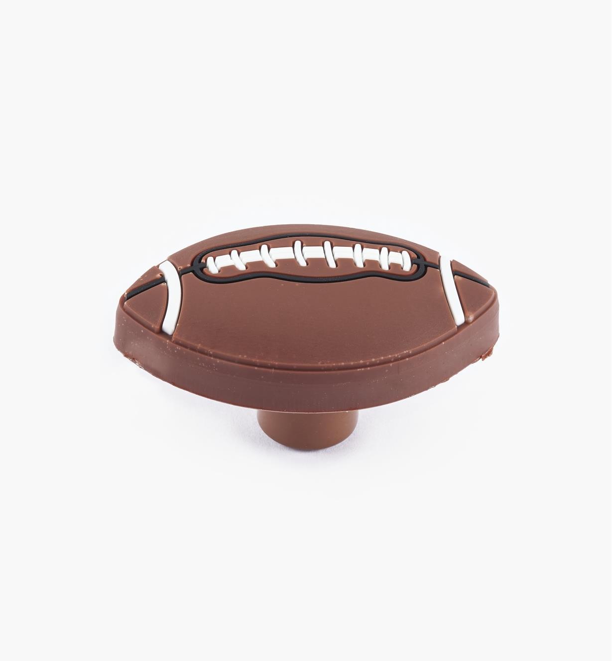 00W5611 - Football Knob