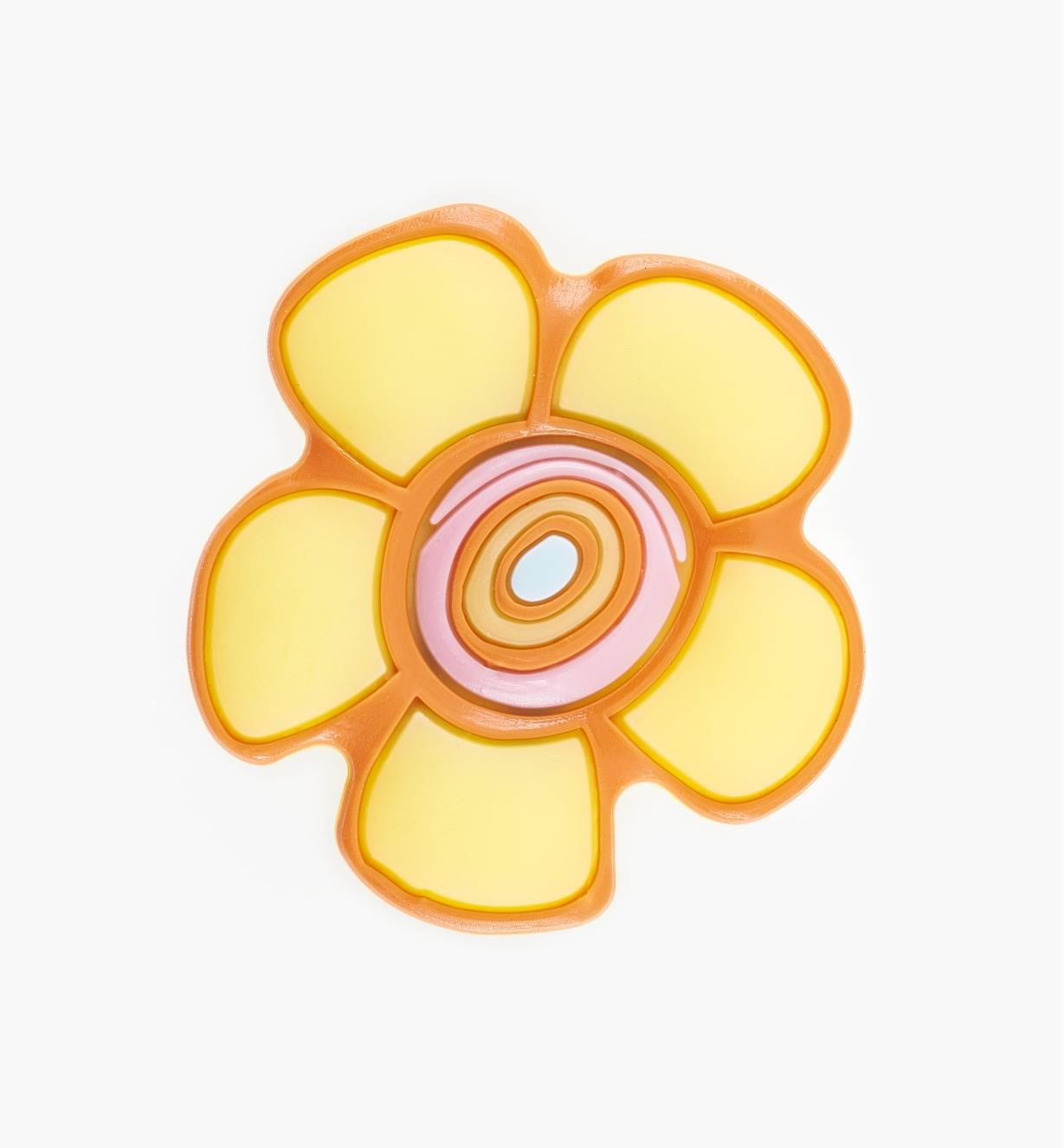 00W5617 - Yellow Flower Knob