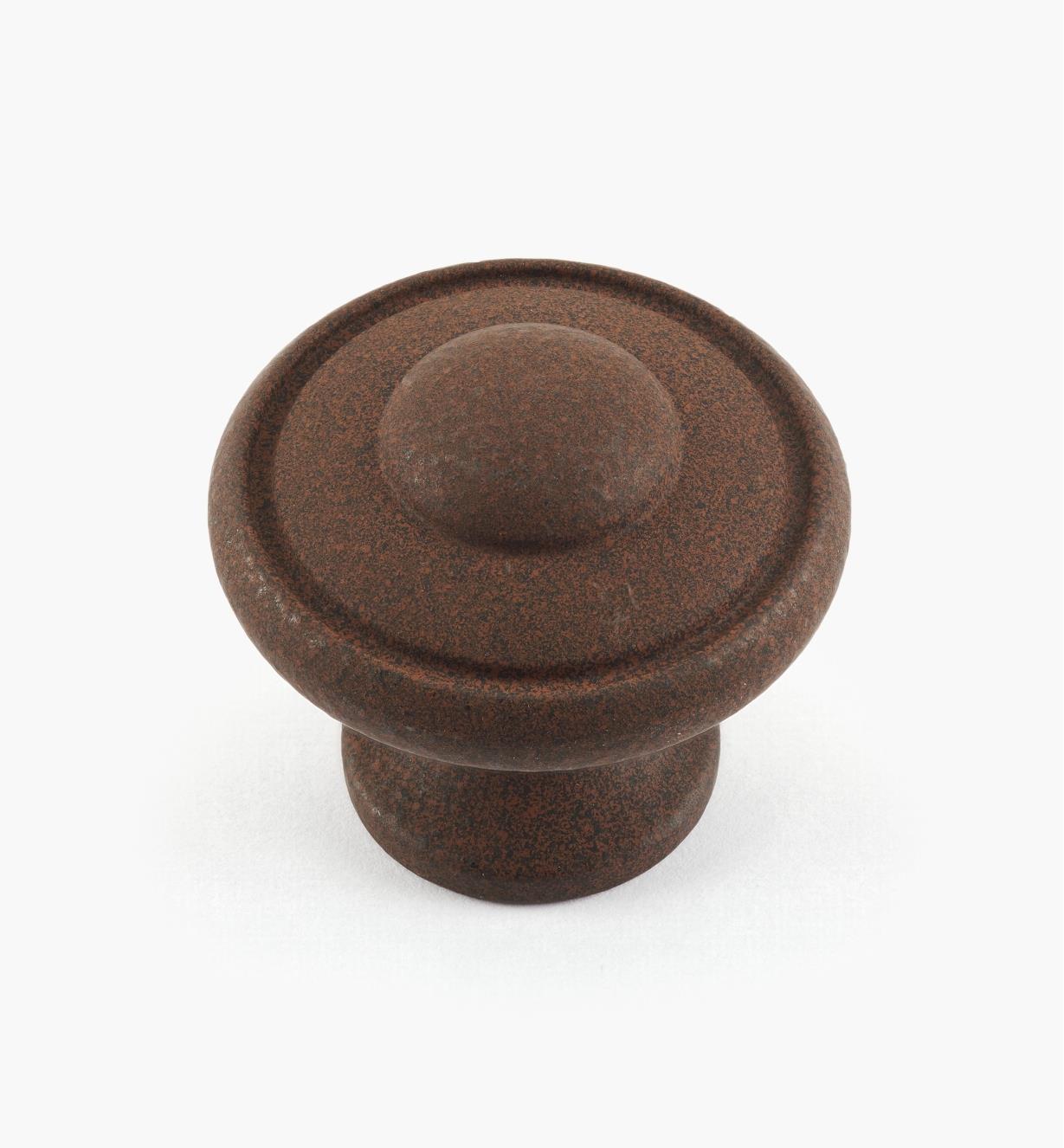 02G1851 - Dull Rust Knob