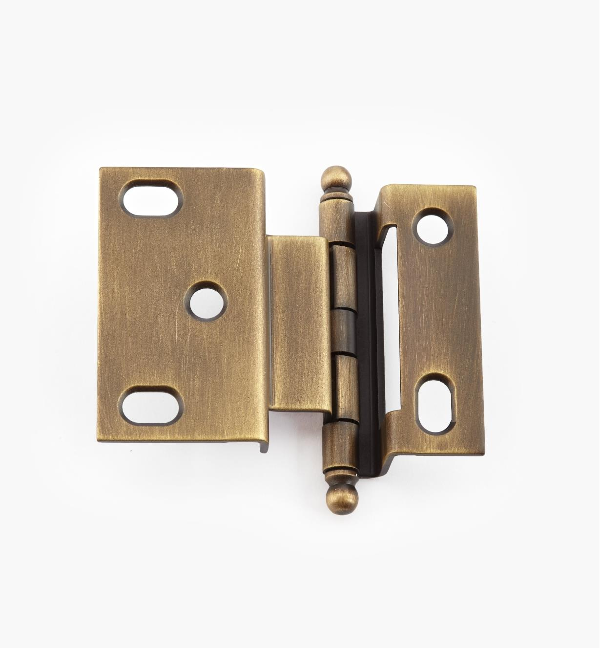 02H1224 - Weathered Brass Offset Hinge/Ball