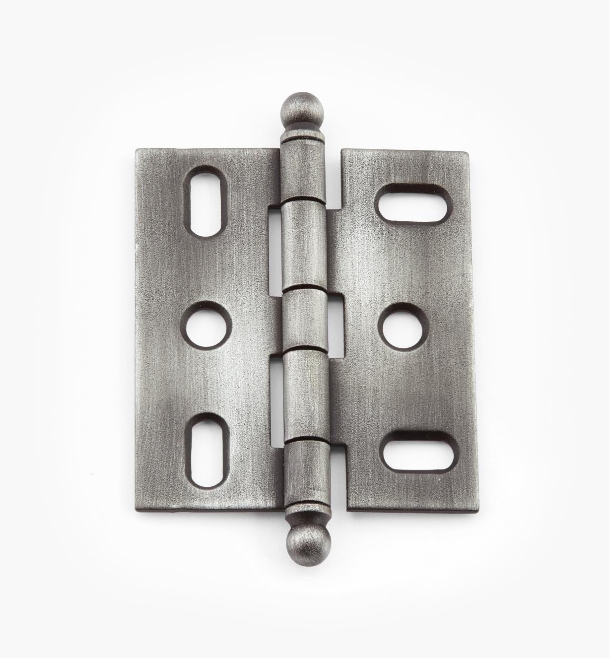 02H1241 - Weathered Pewter Ball-Tip Hinge