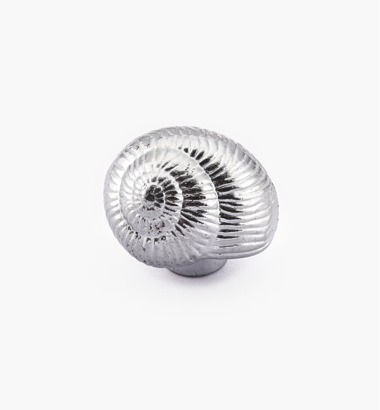 00W5113 - Snail Shell Ocean-Themed Knob, 27mm x 42mm