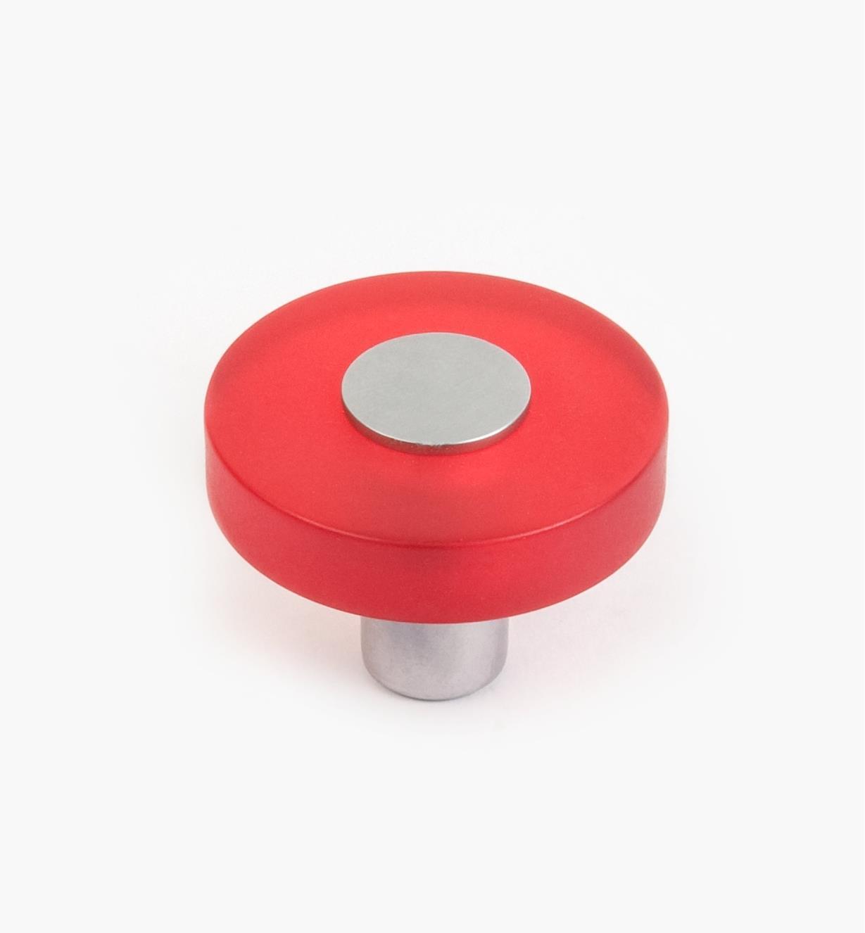 01W1161 - Malaga Hardware, Red Round Knob