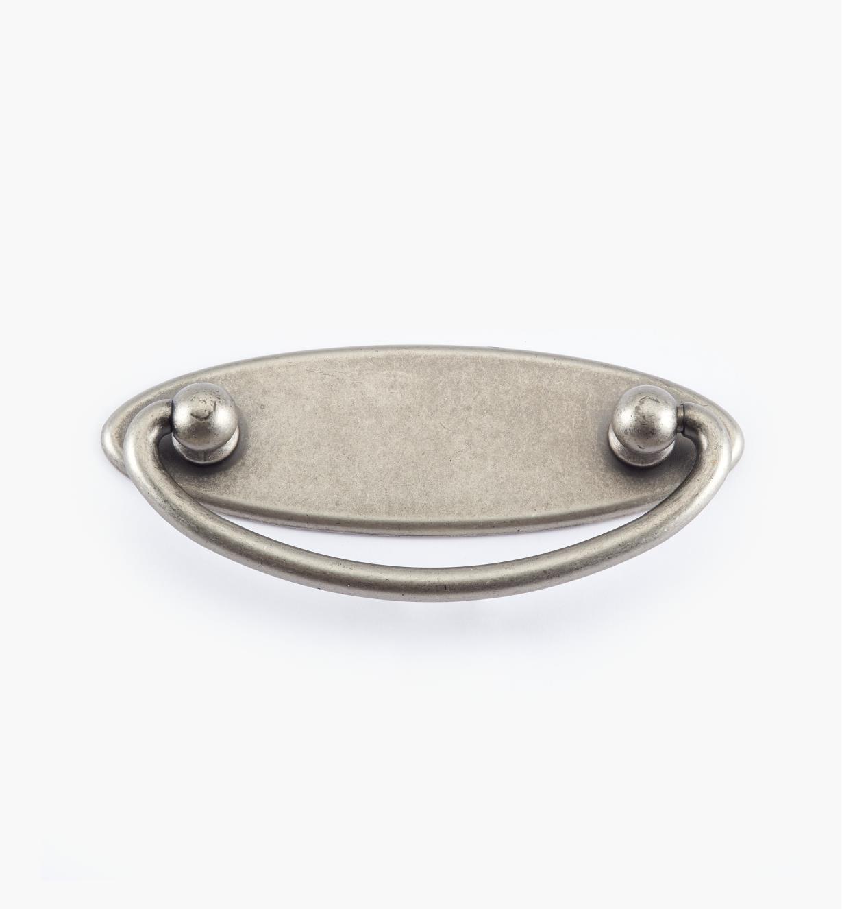 01X3011 - 64mm Pewter Plate Handle