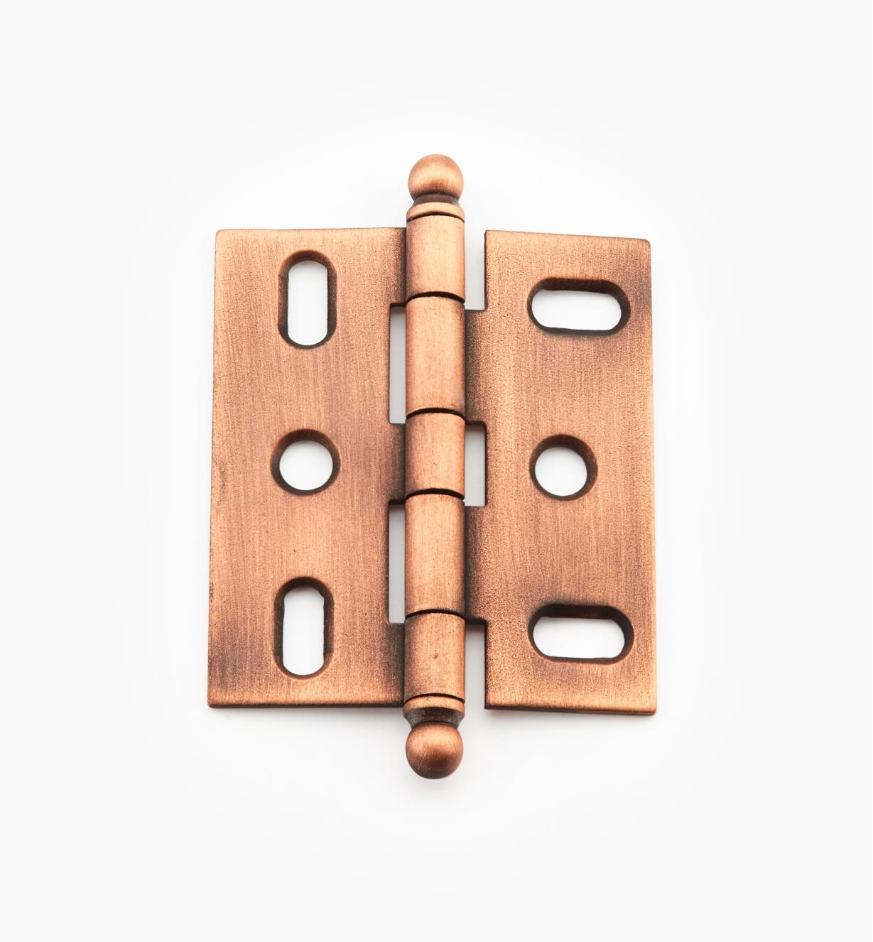 02H1271 - Weathered Copper Ball-Tip Hinge