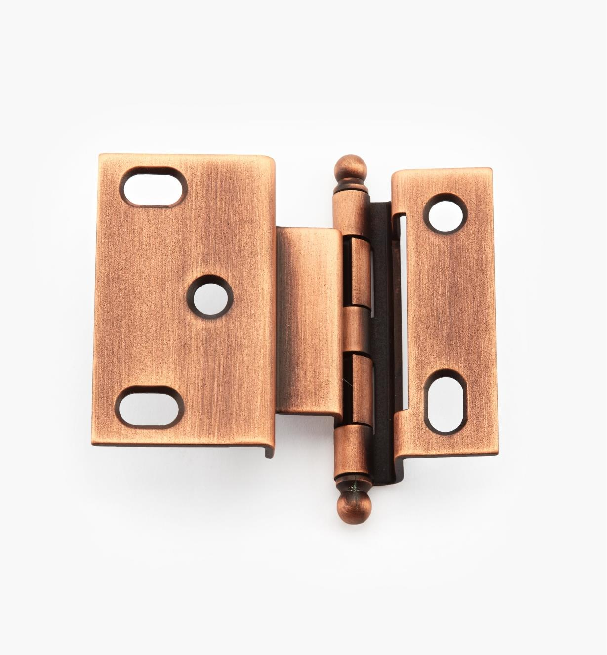 02H1274 - Weathered Copper Offset Hinge/Ball