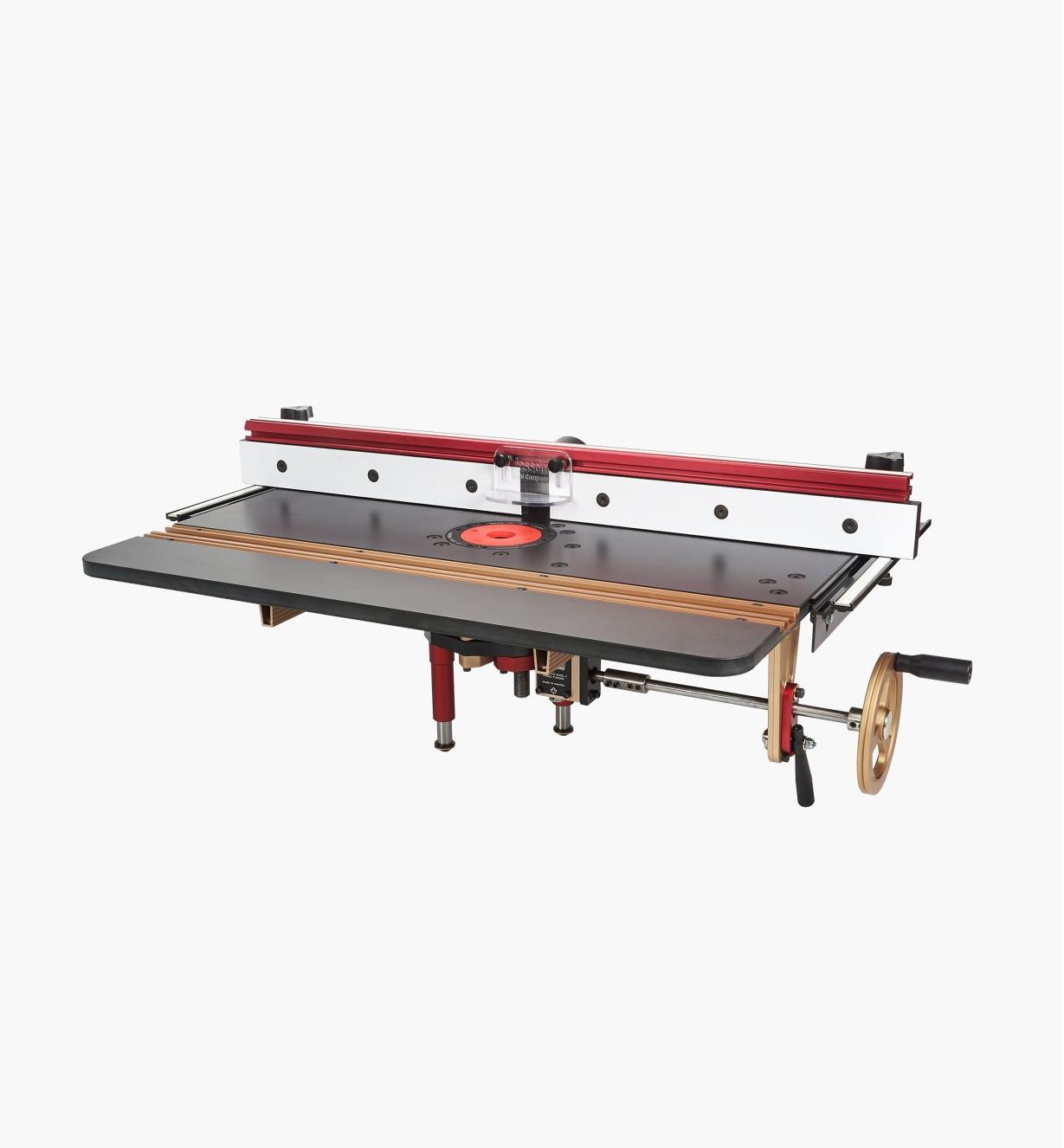 86N4245 - JessEm Mast-R-Lift Excel II + Fence
