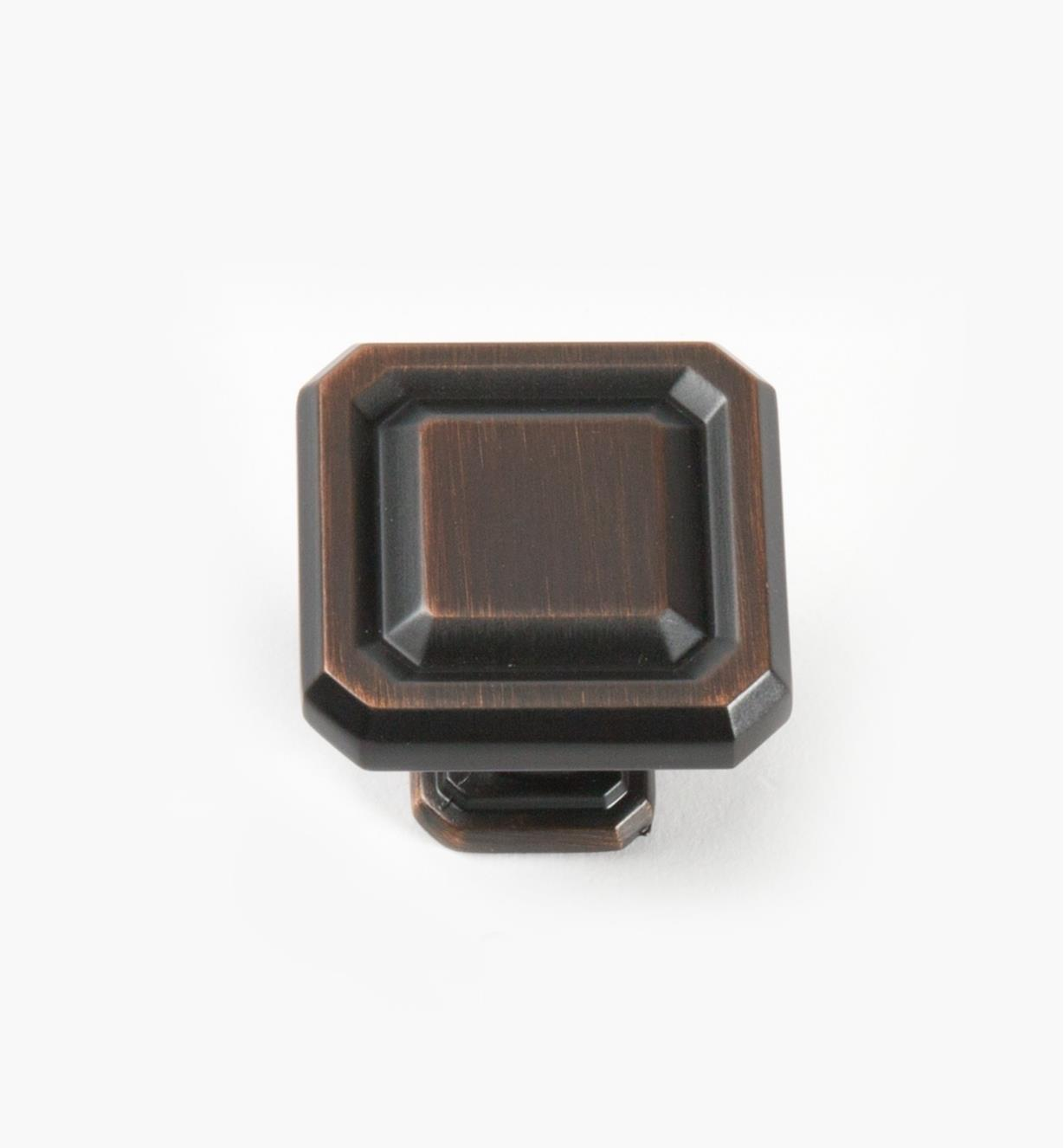 02A1606 - Wells Oil-Rubbed Bronze 38mm x 35mm Knob, each