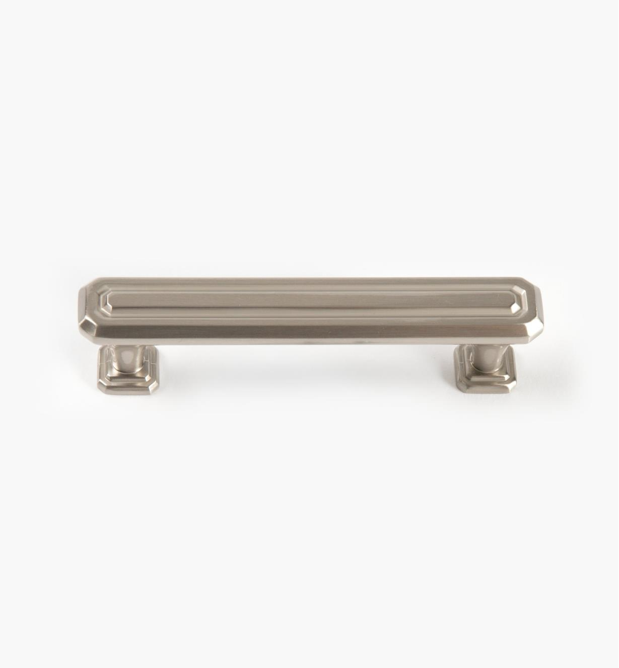 02A1627 - Wells Satin Nickel 96mm x 32mm Handle, each