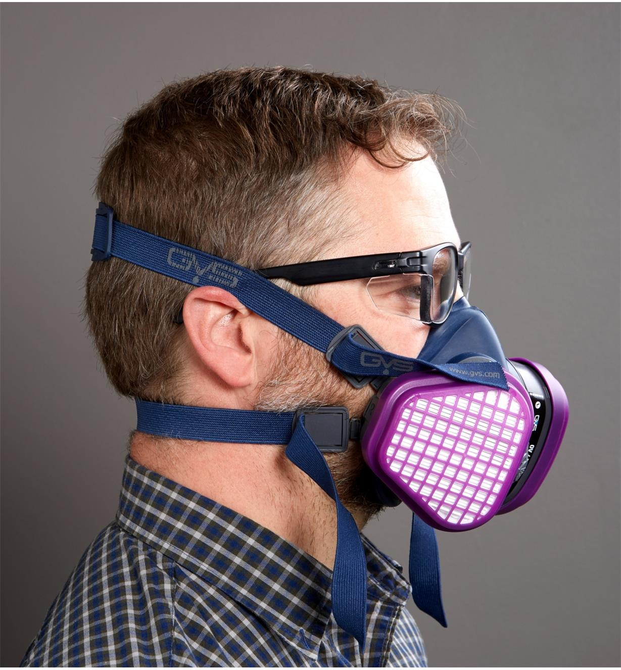 22R2061 - Small/Medium Low-Profile OV Respirator