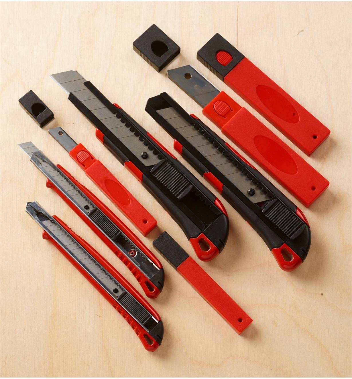 99W3983 - 8-Piece Utility Knife Set