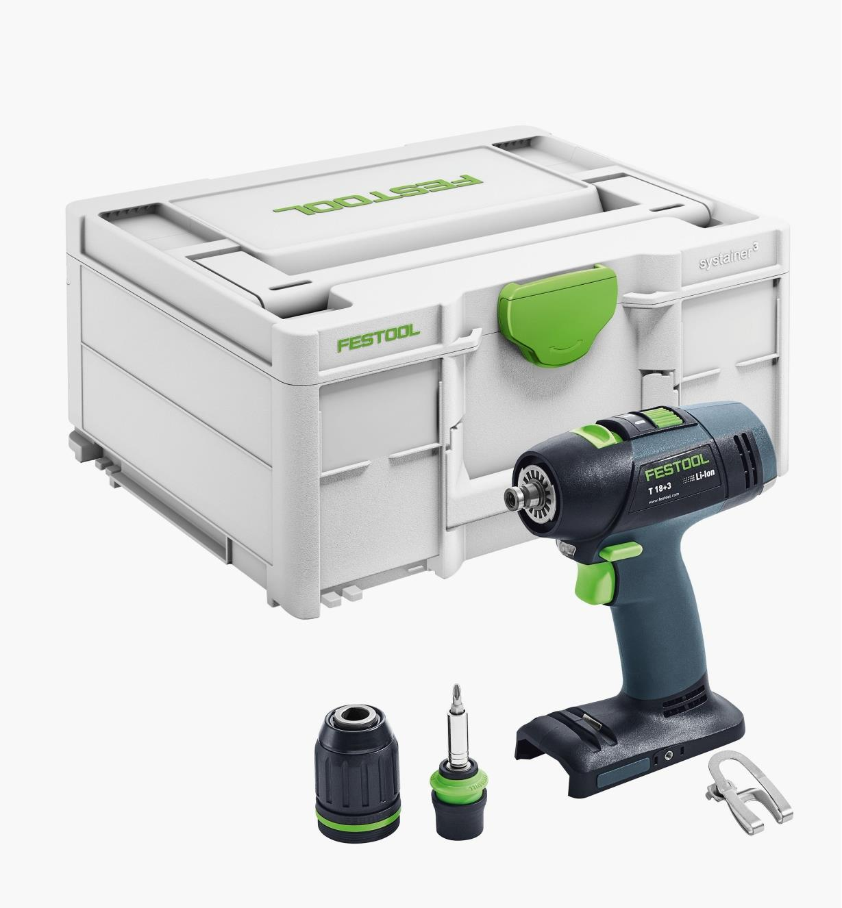 Perceuse-visseuse sans fil de base T 18+3 Festool