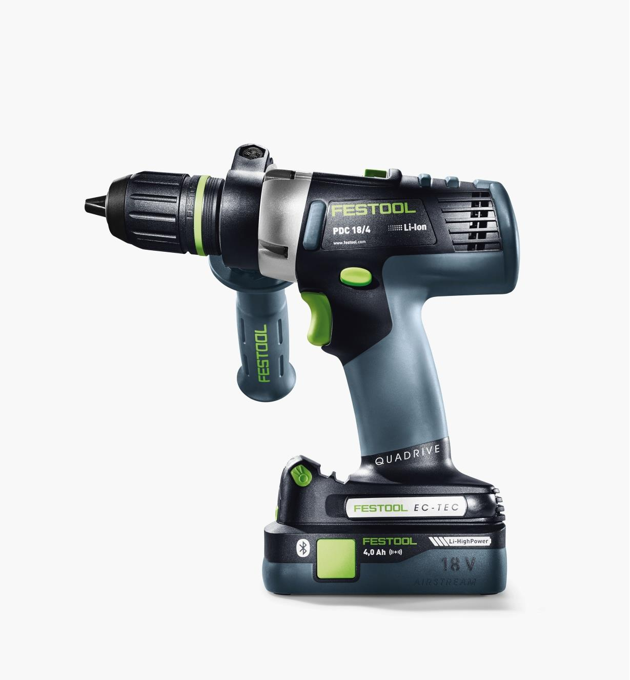 Festool PDC 18 Cordless Hammer Drill Basic (battery shown not included)