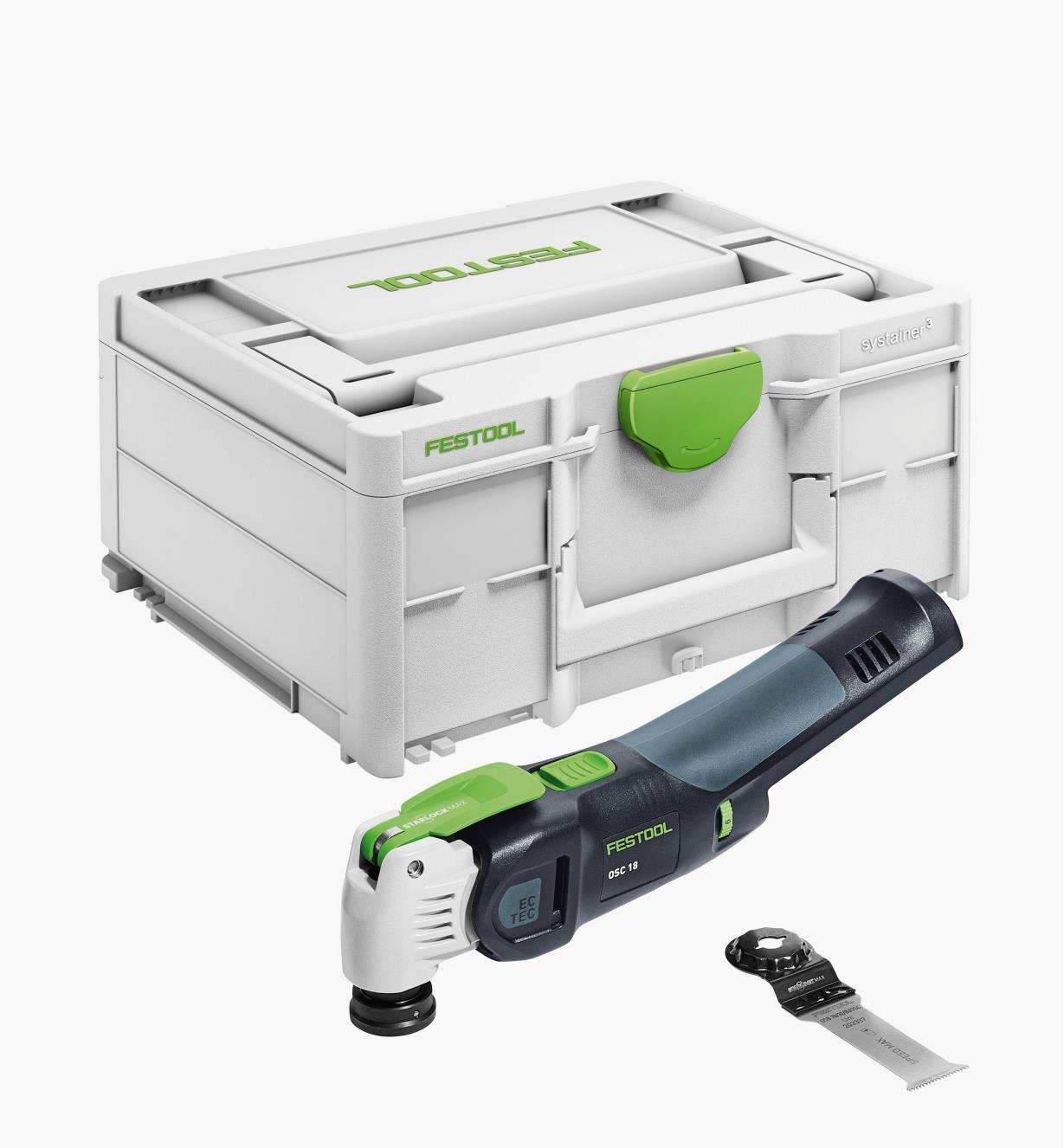 ZC576589 - Festool Vecturo OSC 18 Cordless Oscillating Tool Basic