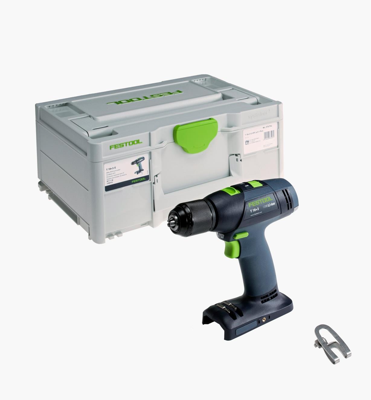 Festool T 18 3 Easy Cordless Drill Basic