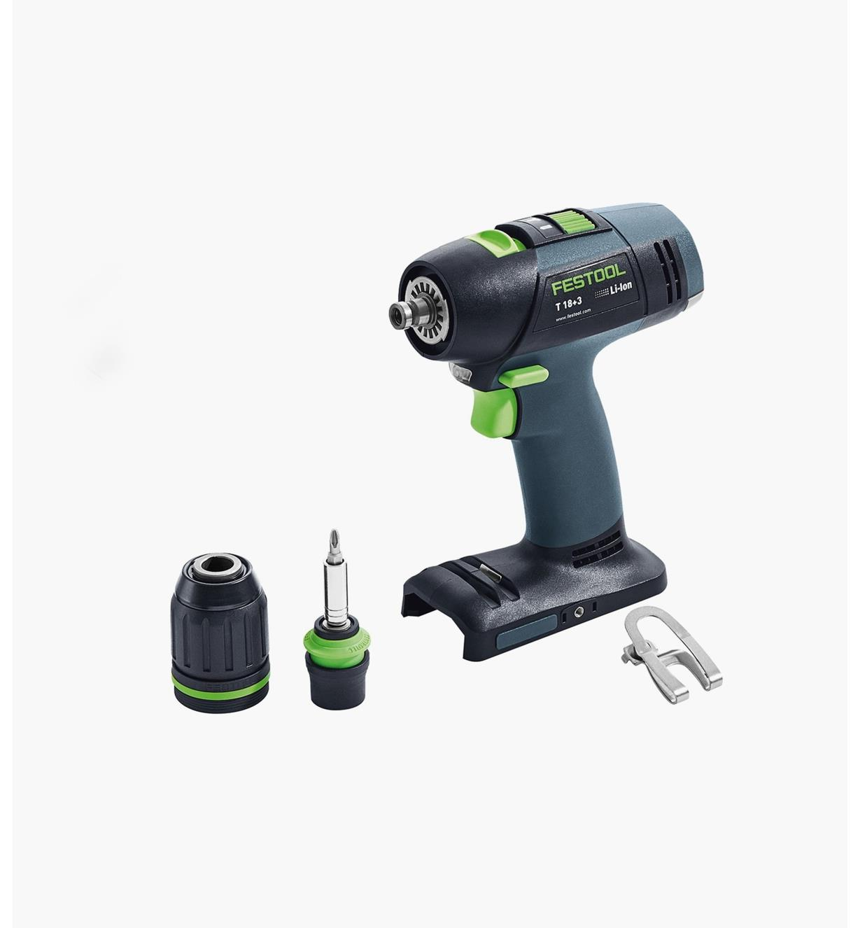 ZC576451 - Perceuse-visseuse sans fil de base T 18+3 Festool