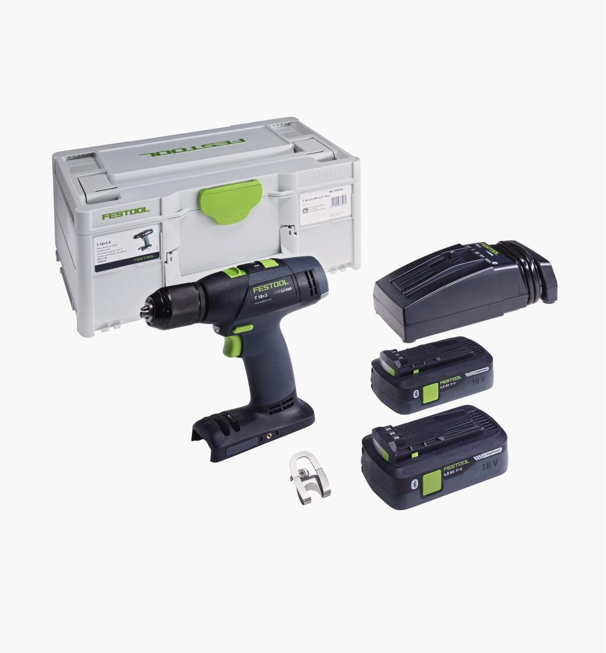 ZC576754 - Festool T 18 3 Easy Cordless Drill Plus