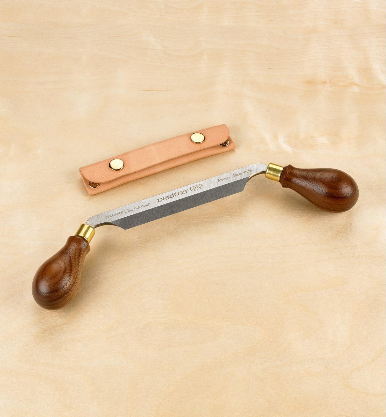17U0651 - PM-V11 Carver's Drawknife with Case