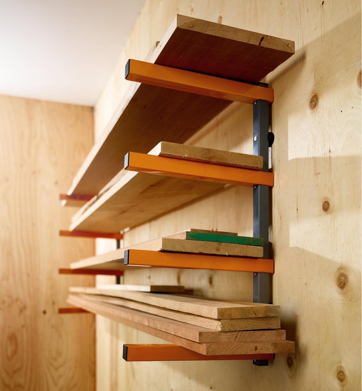 84K4107 - Bora Four-Shelf Lumber Rack