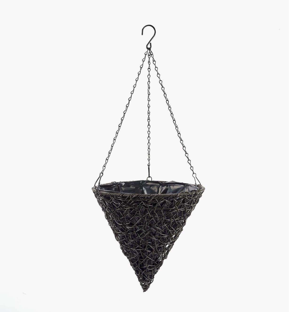 XB692 - Hanging Cone-Shaped Basket