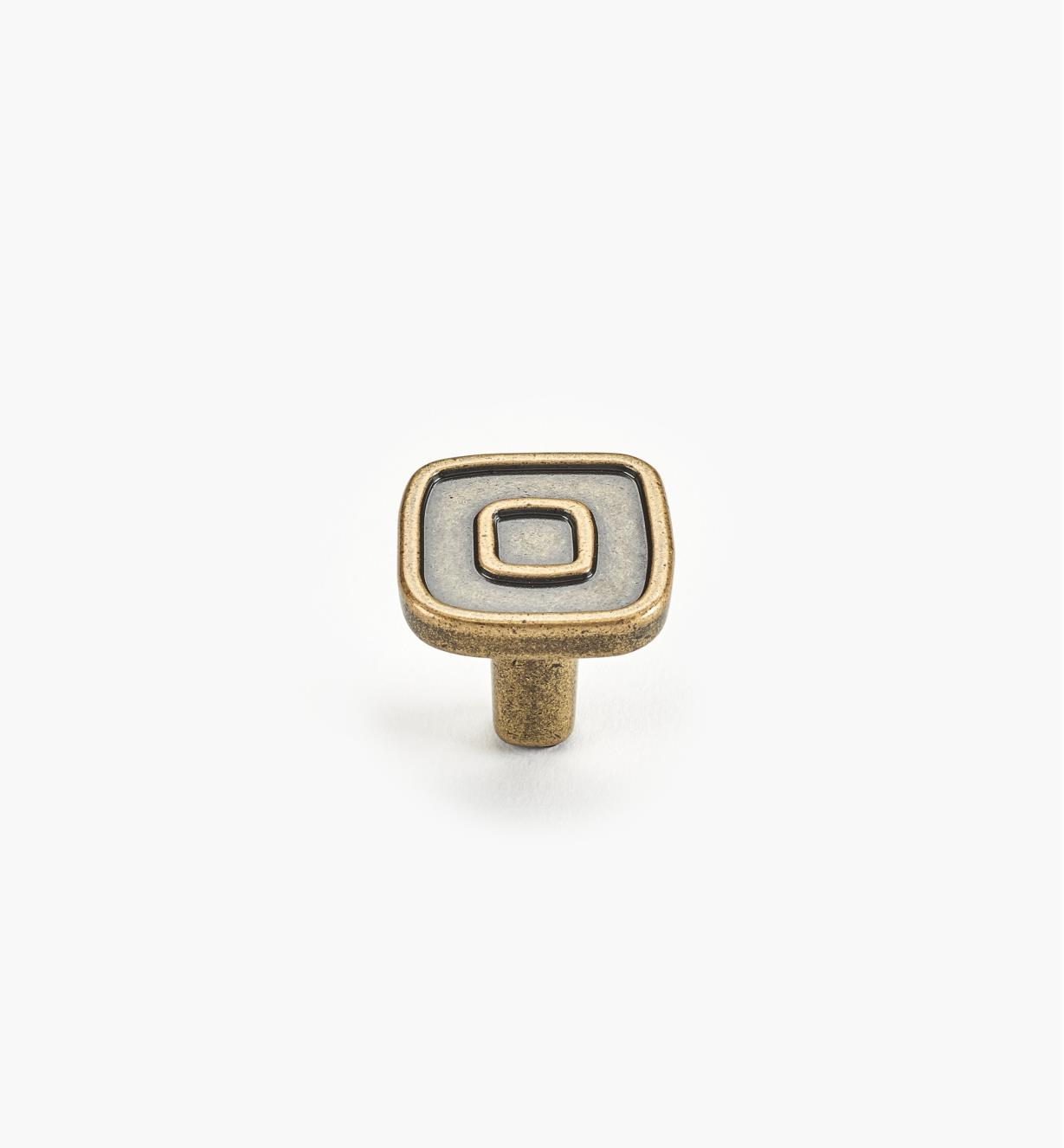 00A7513 - Infill Suite - 30mm Small Antique Brass Knob