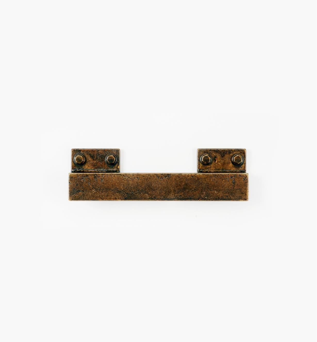 00A7831 - Factory Hardware 160mm/96mm Old Brass Handle, each