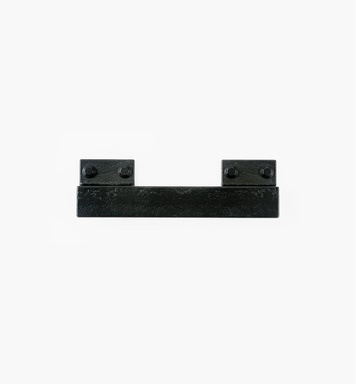 00A7832 - Factory Hardware 160mm/96mm Blackened Iron Handle, each