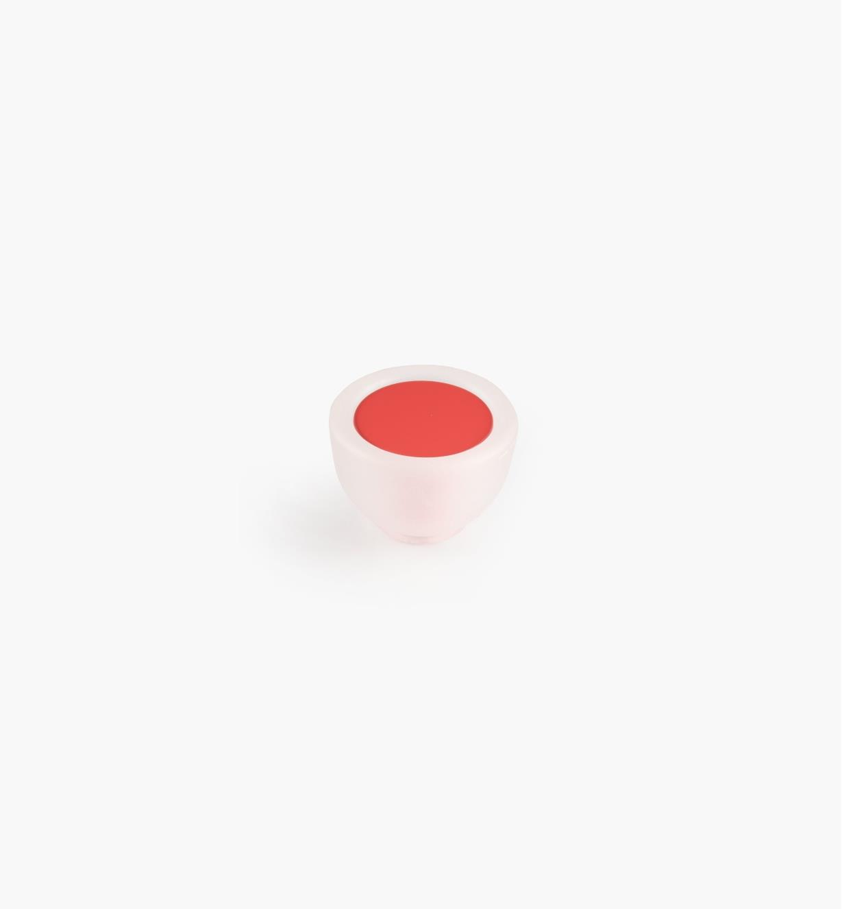 00W5430 - Bouton rond, 35mm, série Bungee, rouge