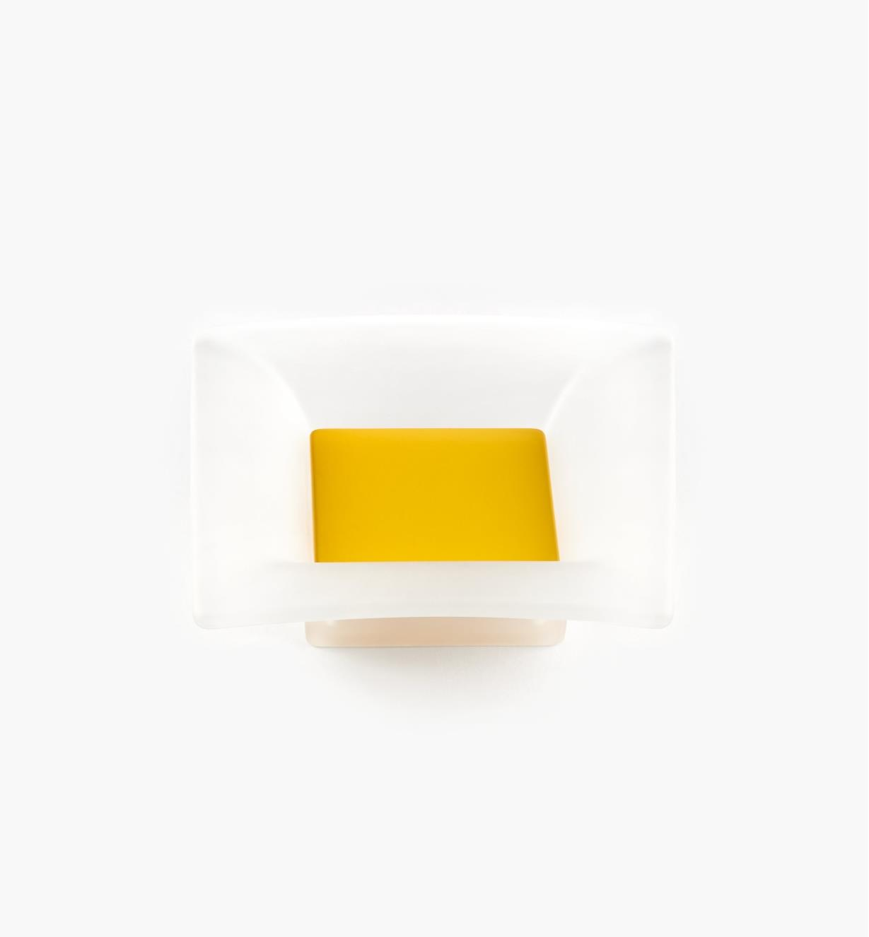 00W5442 - 32mm Bungee Square Pull, Yellow