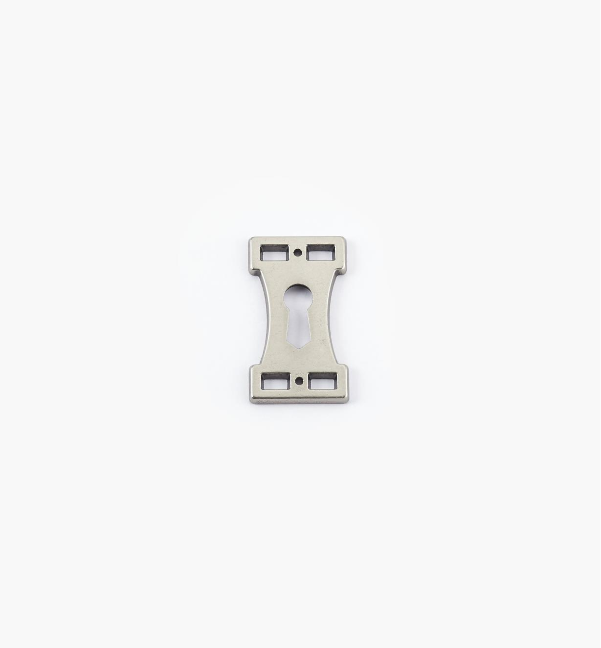 01A2296 - Keyhole Escutcheon, Arts and Crafts Suite I