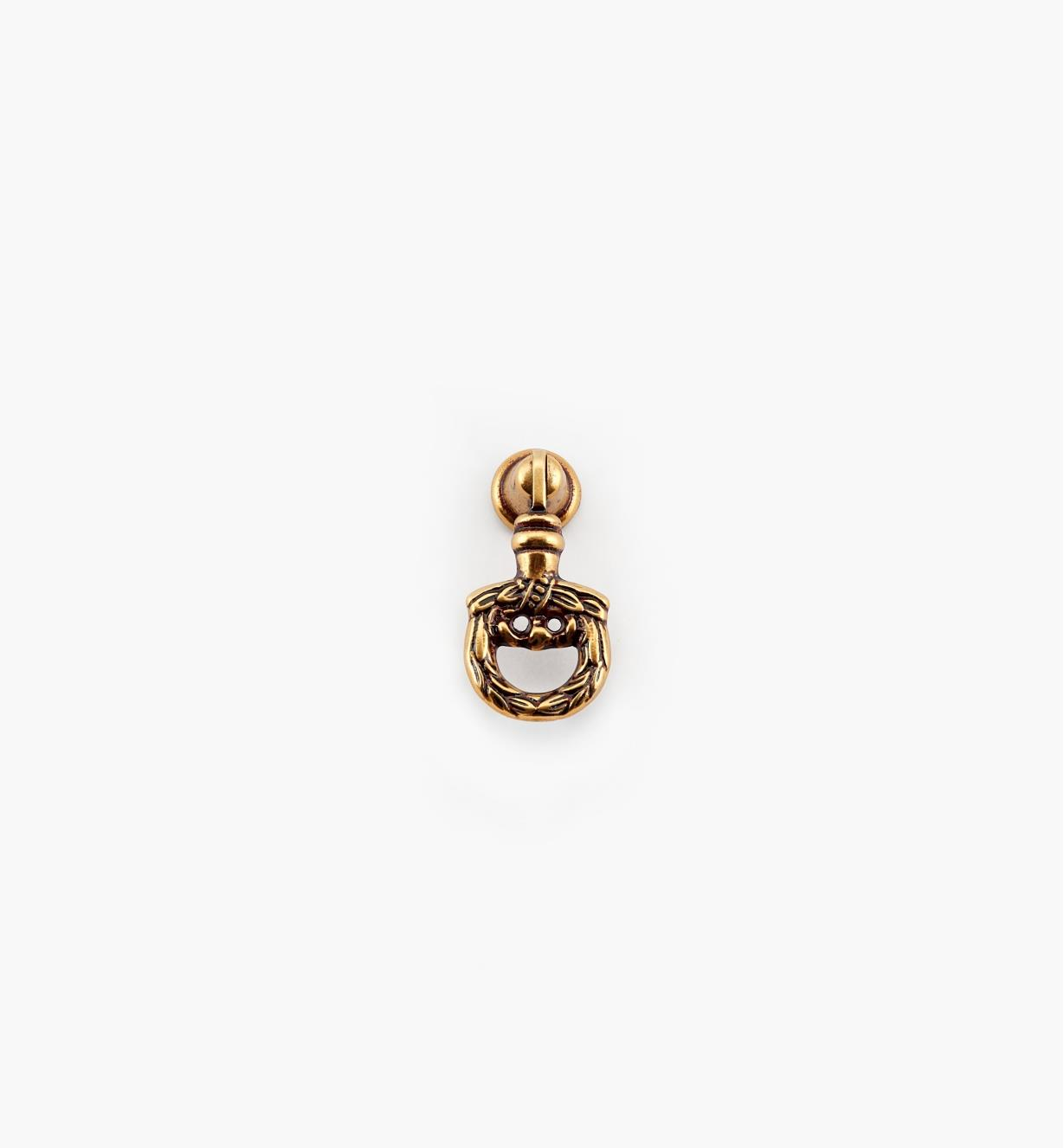 01A5872 - Poignée pendante de 50mm, quincaillerie Louis XVI, série II