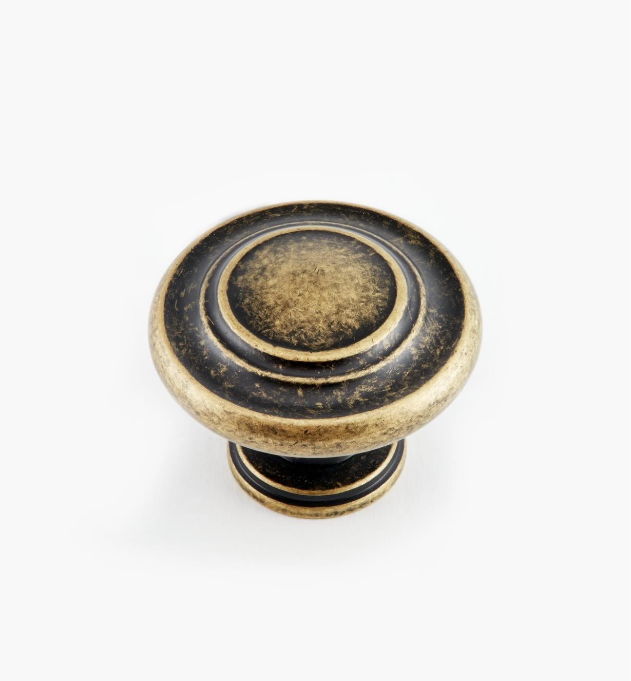 """02A0505 - 1 5/16"""" Leaf Ring Knob"""