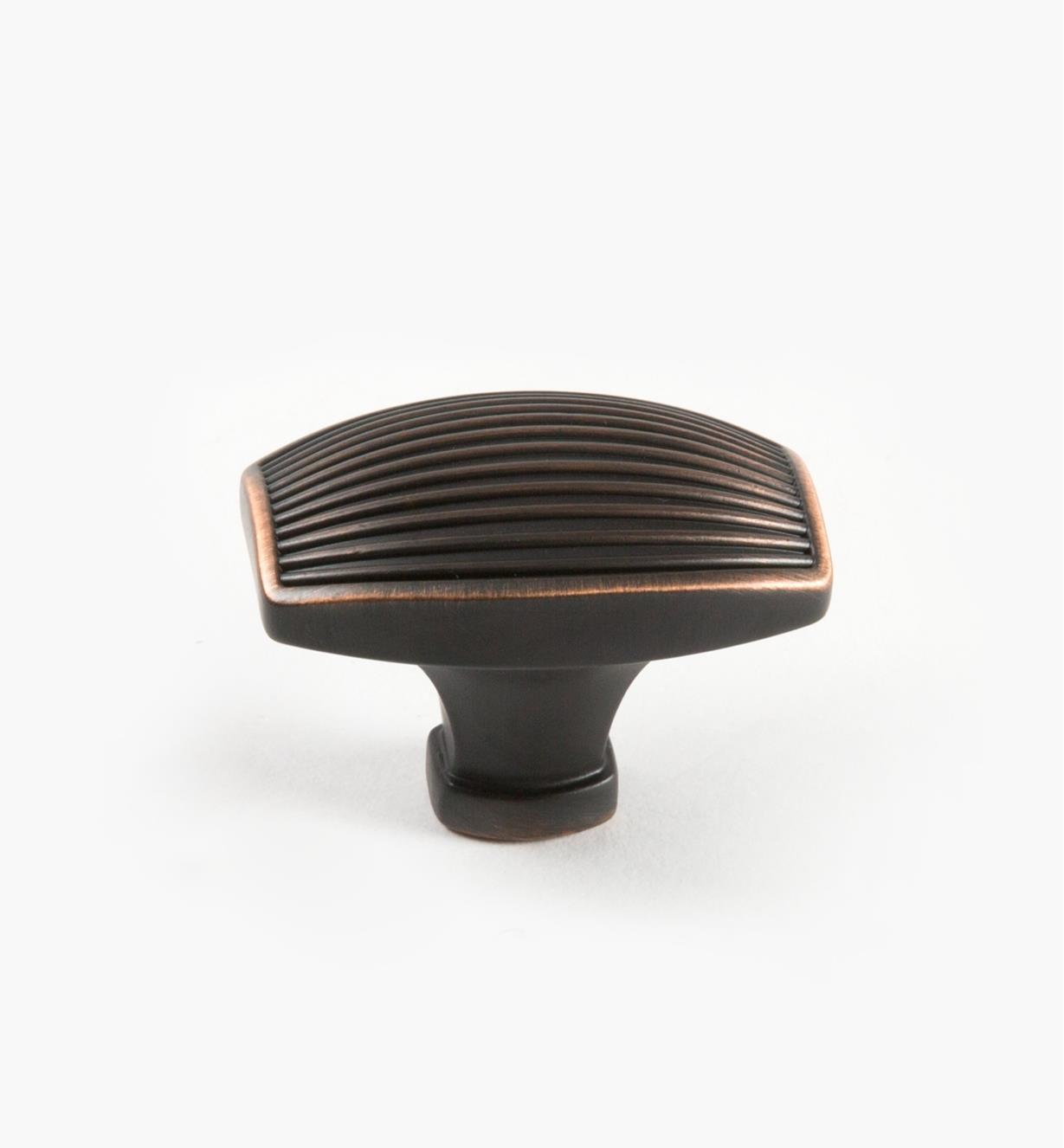 "02A1524 - Seagrass Oil-Rubbed Bronze 1 3/4"" Lg. Knob, each"