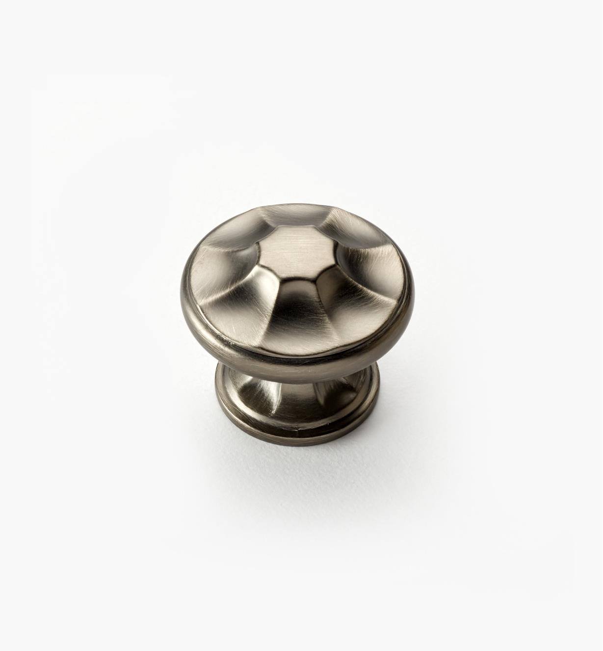 "02A5111 - Empire Suite – 1 3/8"" Antique Nickel Round Knob"