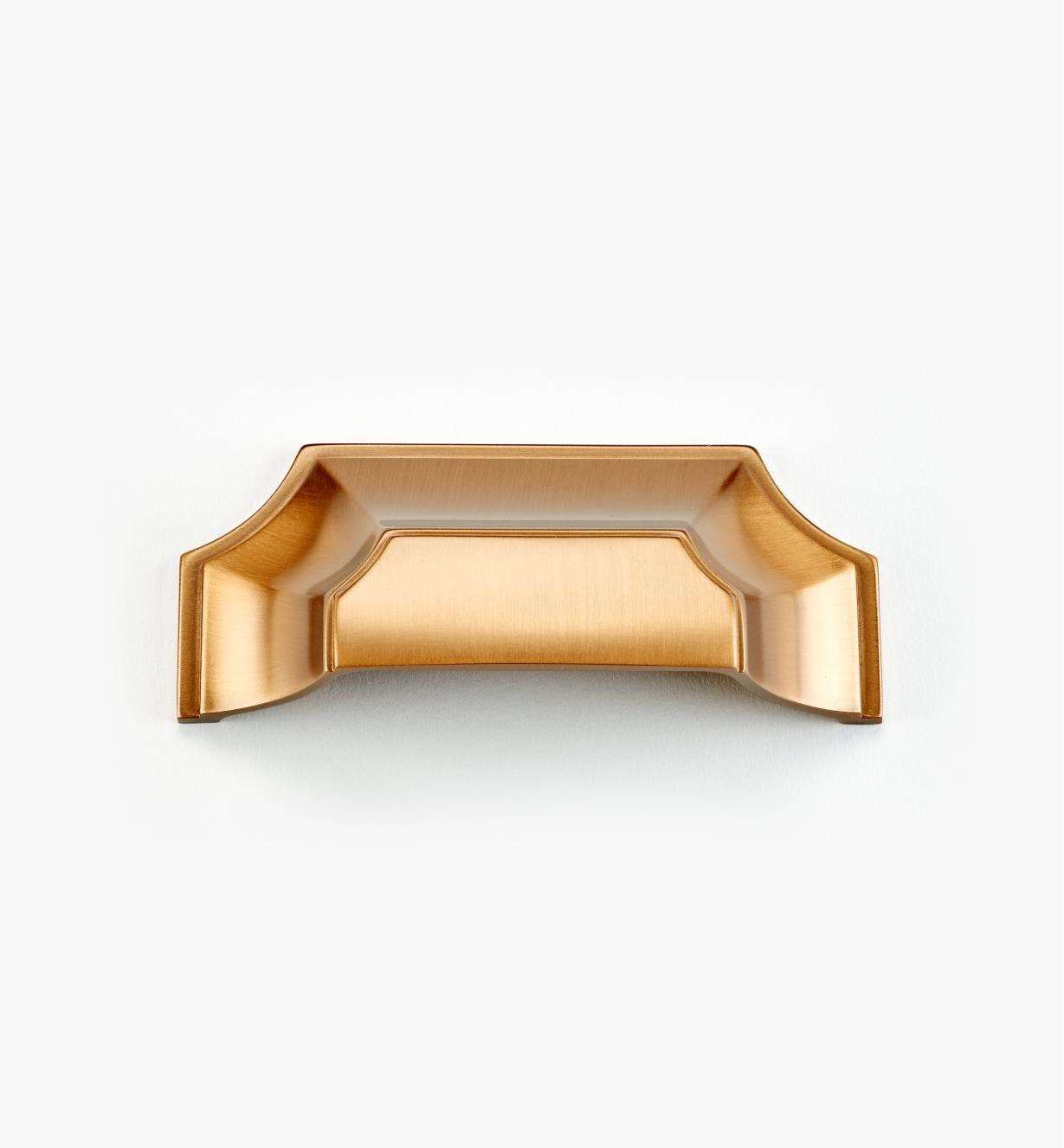 "02A5122 - Empire Suite – 3"" Light Bronze Cup Pull (4 3/8"")"