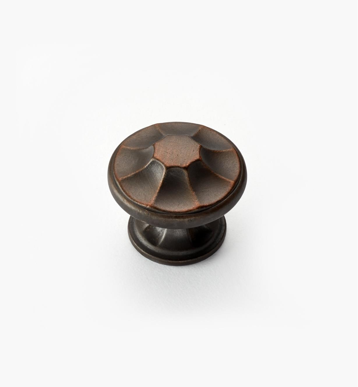 "02A5142 - Empire Suite – 1 3/8"" Antique Bronze Round Knob"