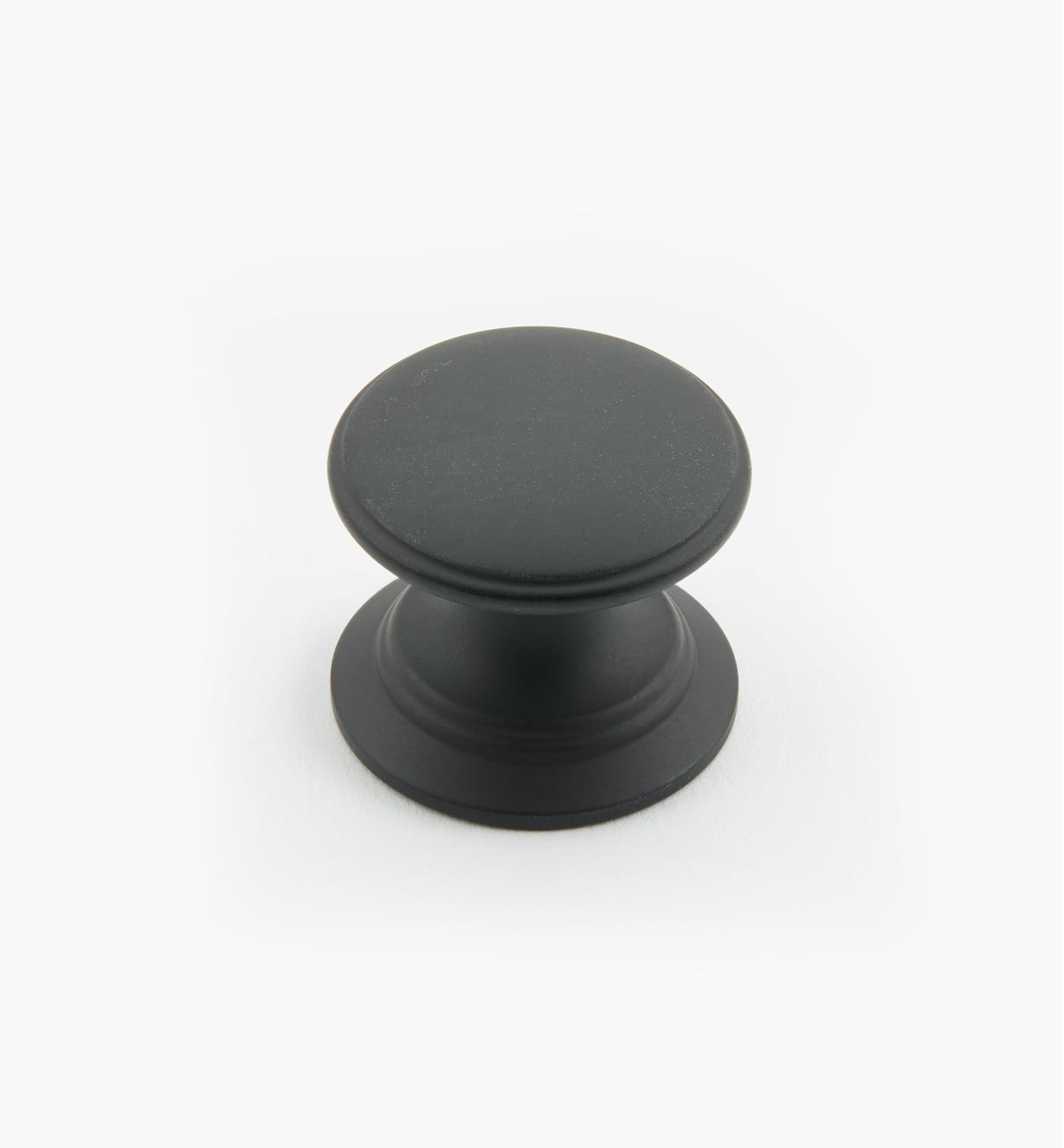 "02W1428 - Oil-Rubbed Bronze Suite - 1"" x 7/8"" Round Brass Knob"