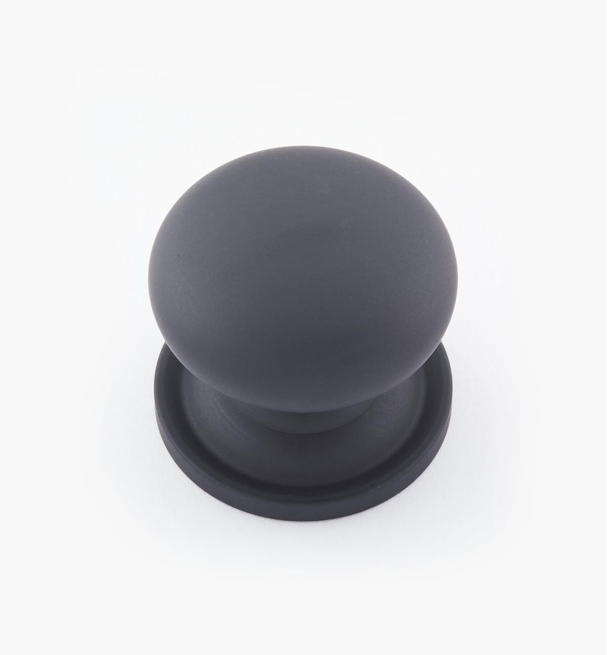 "02W1532 - Oil-Rubbed Bronze Suite - 1 3/16"" x 1 1/8"" Round Brass Knob"