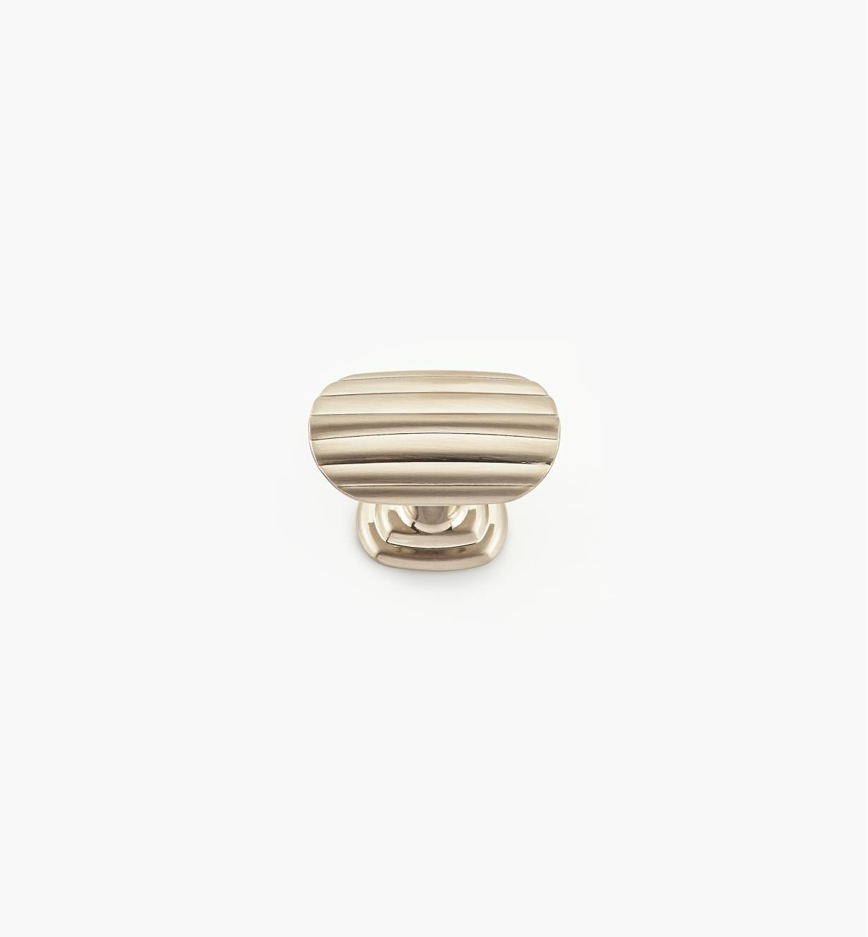 02W1740 - Tsou 38mm x 24mm Satin Nickel Knob