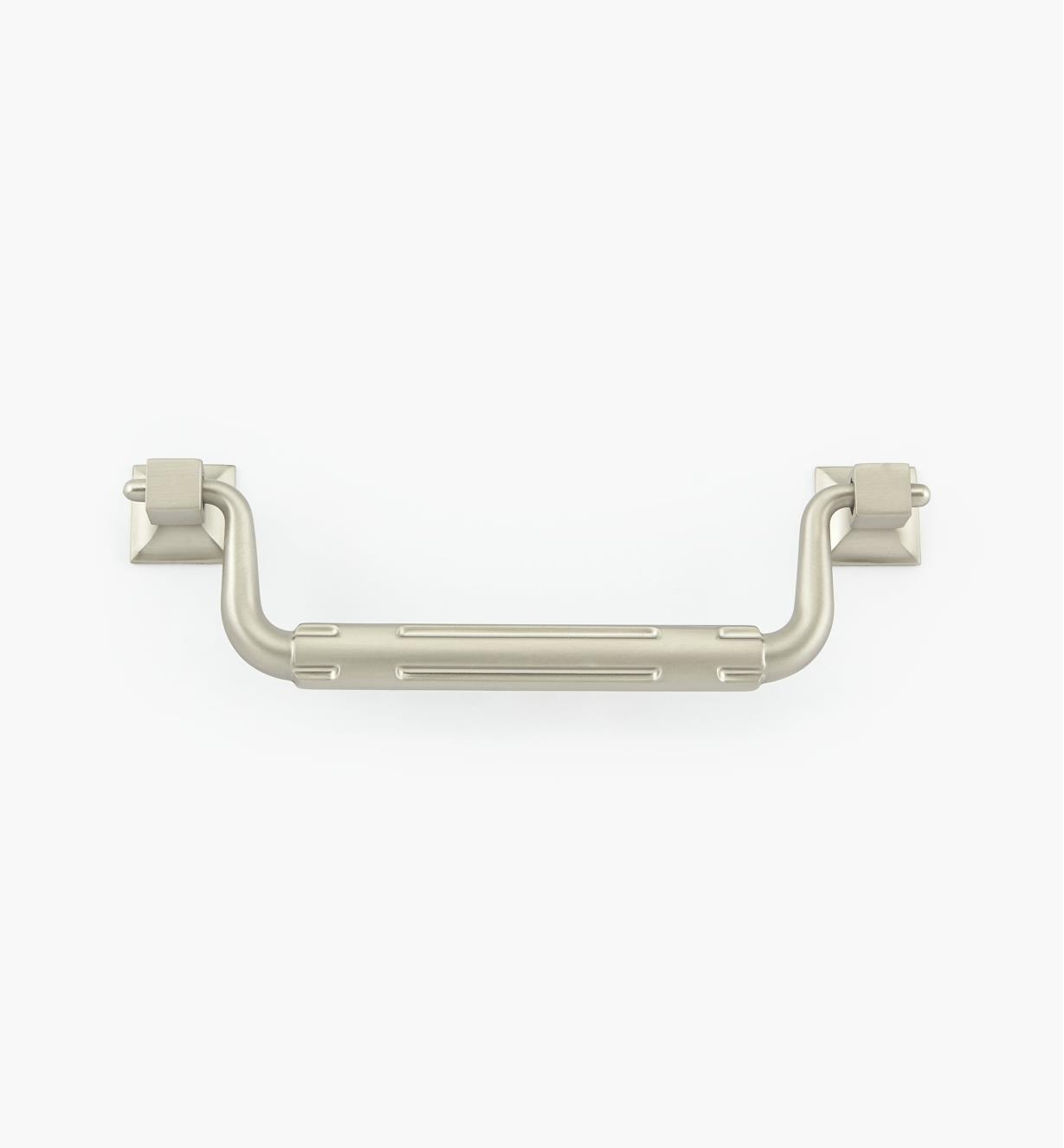 02W1903 - 128mm Satin Nickel Stop Handle