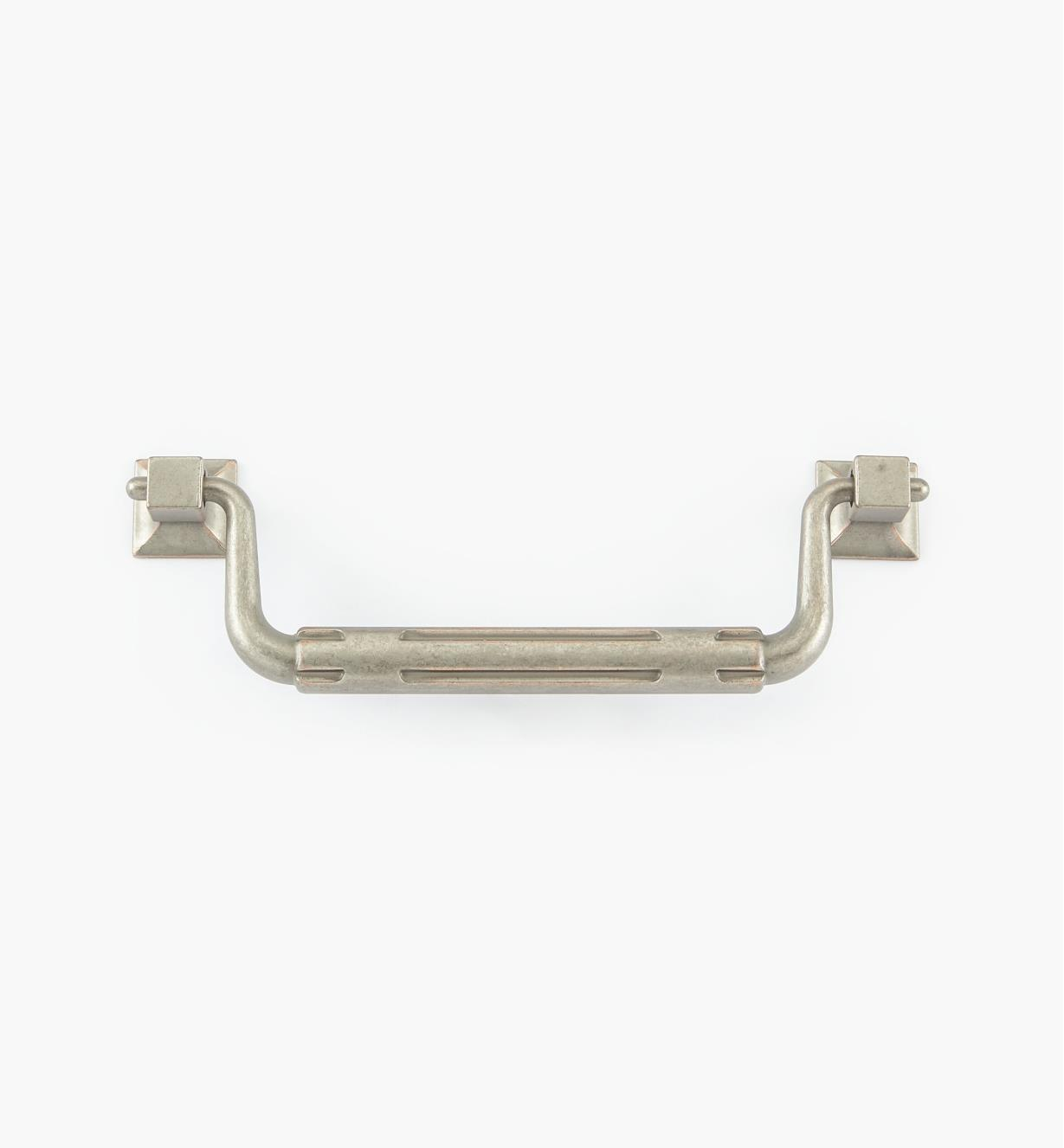 02W1963 - 128mm Weathered Nickel-Copper Stop Handle