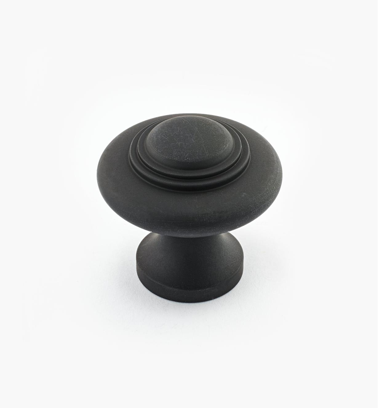 "02W2623 - Oil-Rubbed Bronze Suite - 1 5/16"" x 1 1/4"" Cast Brass Ring Knob"